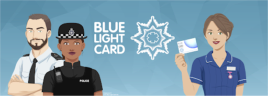 Blue Light Discount Card